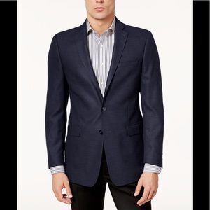 Calvin Klein Slim-Fit Textured Sport Coat